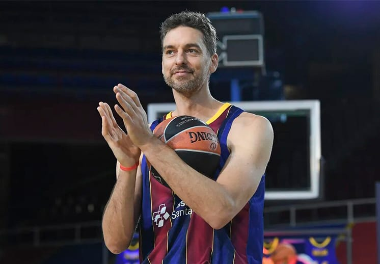 Pau Gasol tendrá una serie documental sobre su regreso al Barcelona