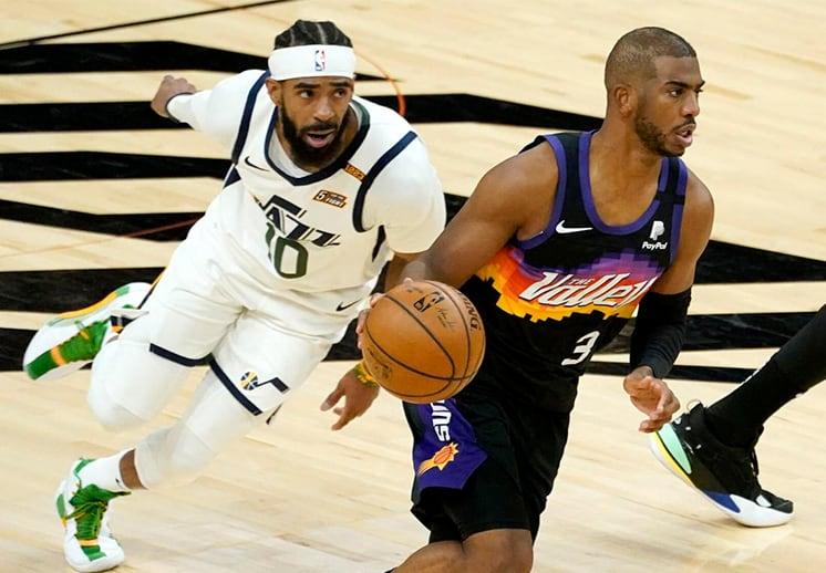 Jazz de Utah y Suns de Phoenix con un duelo de poder a poder