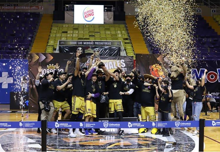 Dorados Capital campeón de la Liga de Basquetbol Estatal