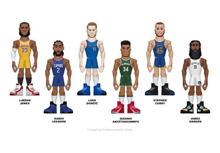 La NBA tendrá una nueva línea de Funkos