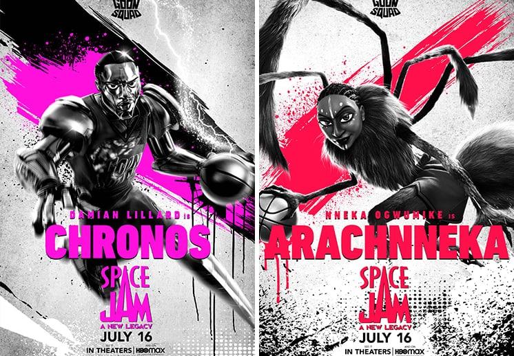 Presentan al Goon Squad de Space Jam: A New Legacy DEST
