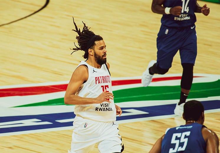 J. Cole causa de polémica en la Basketball Africa League