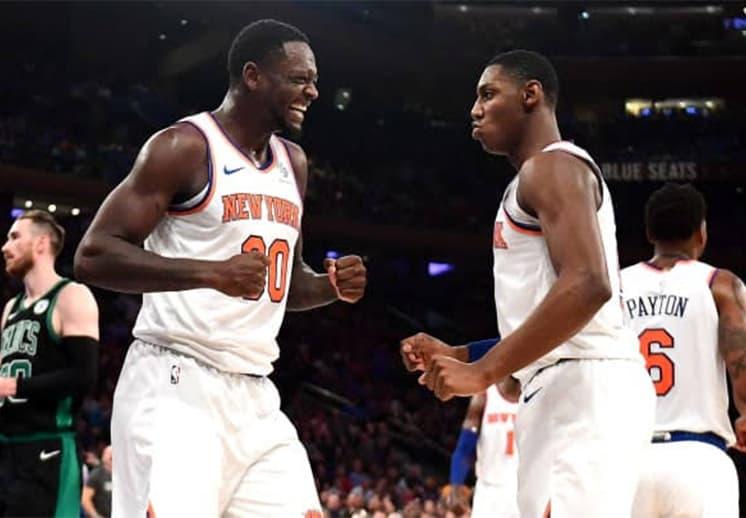 Los Knicks están en Playoffs