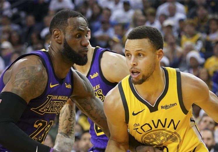 La nueva cita entre LeBron James y Stephen Curry