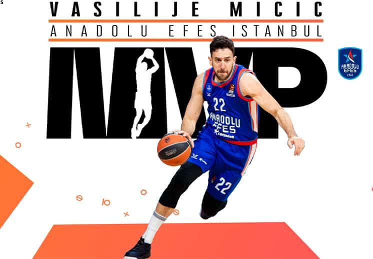 Vasilije Micic el MVP de la Euroleague