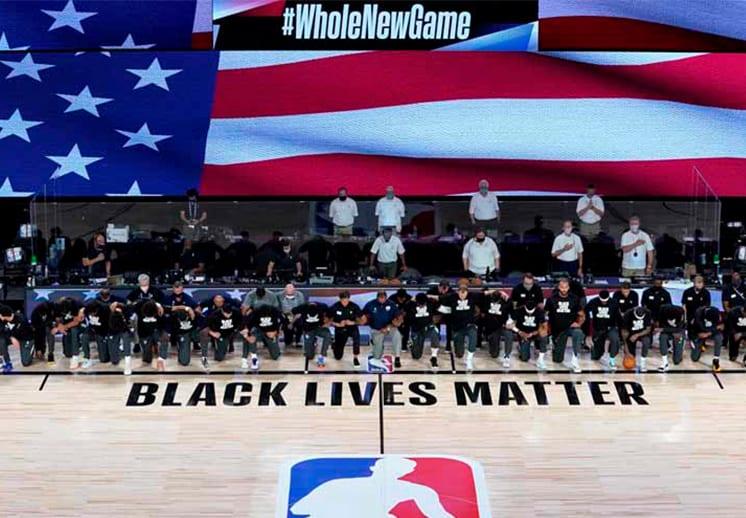 La NBA conmemora el primer aniversario de la muerte de George Floyd