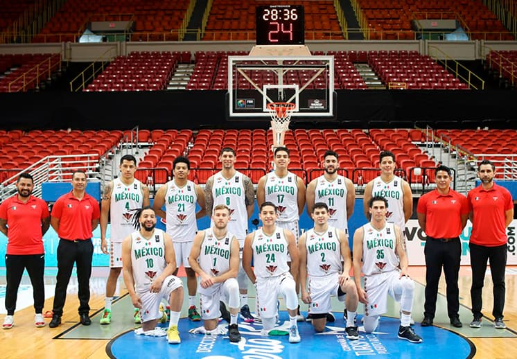 Detalles de la preparación de la Selección Mexicana de basquetbol