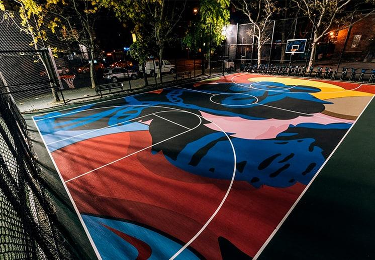 El santo grial del arte moderno y el basquetbol