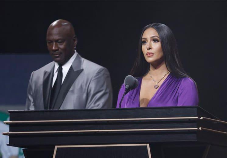 El discurso de Vanessa Bryant que conmovió a todos