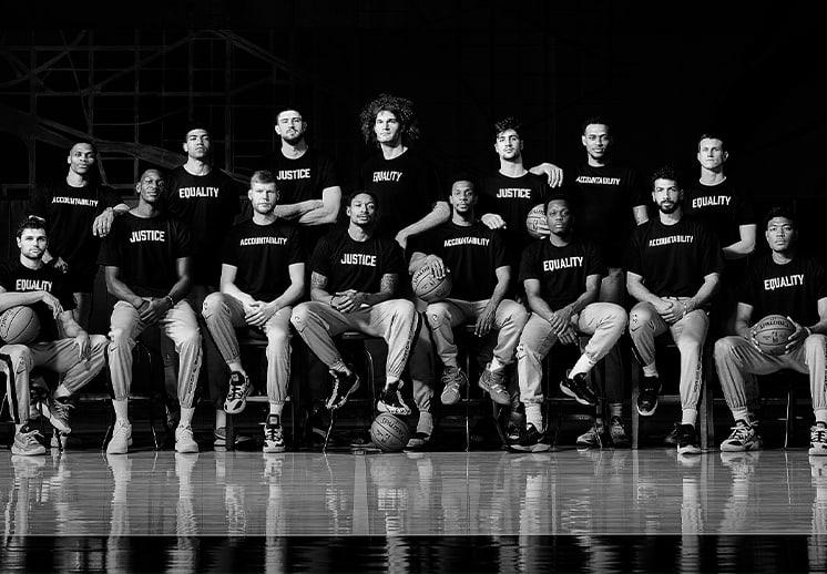 Los Wizards mandan poderoso mensaje en su foto anual