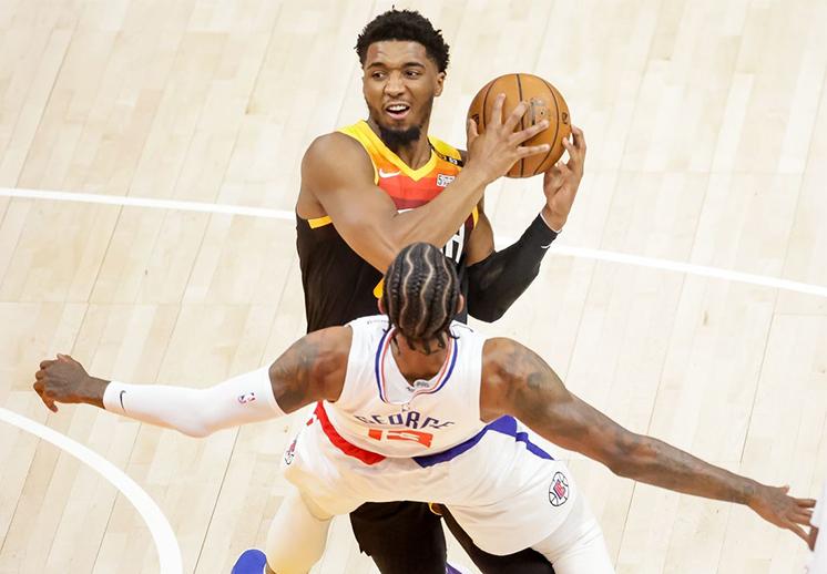 Utah da el segundo golpe a los Clippers