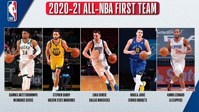 Los Equipos Ideales de la NBA 2020-2021 1