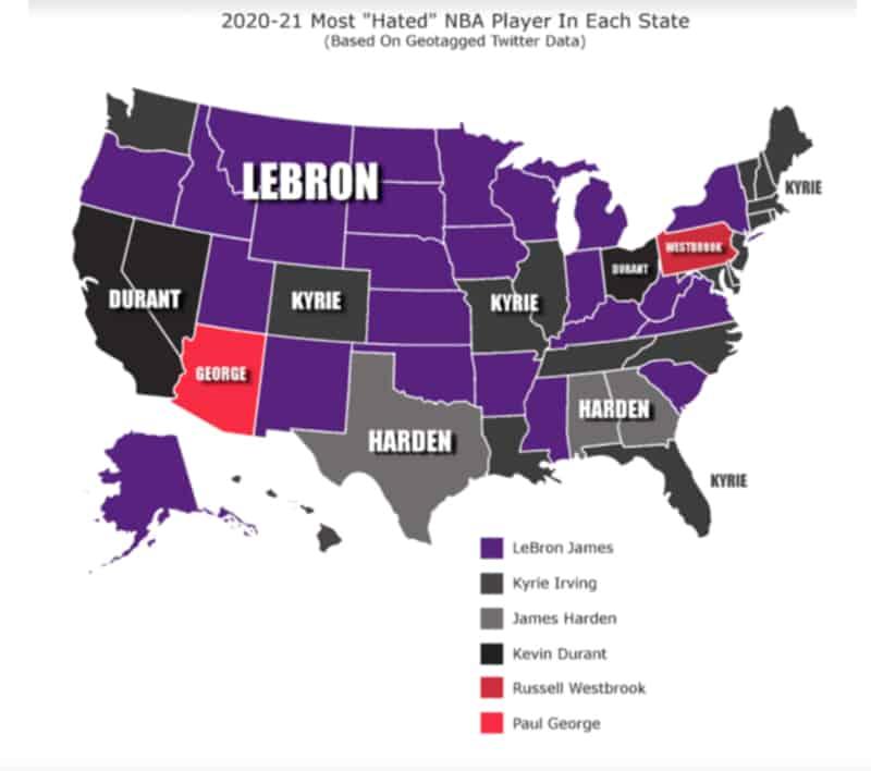 Los jugadores más odiados en la NBA 1
