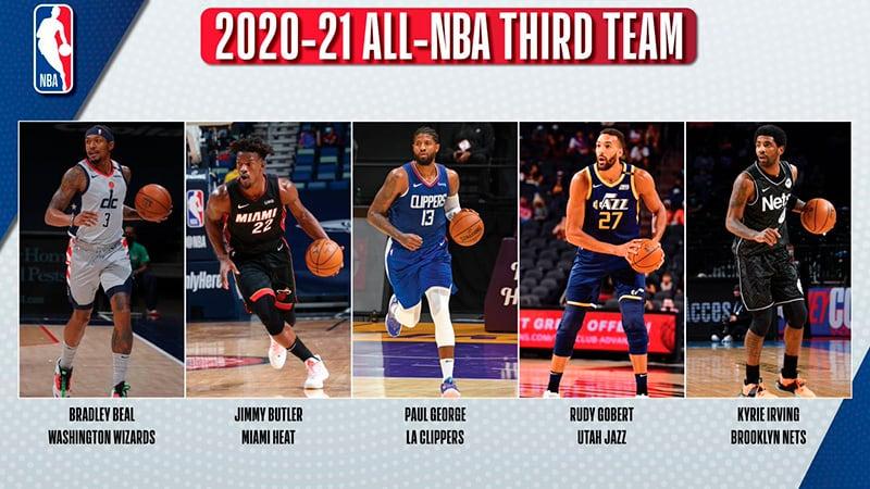 Los Equipos Ideales de la NBA 2020-2021 3