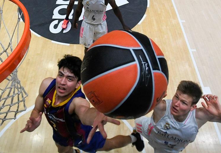 Gael Bonilla y el FC Barcelona subcampeones en ANGT de la Euroleague DEST