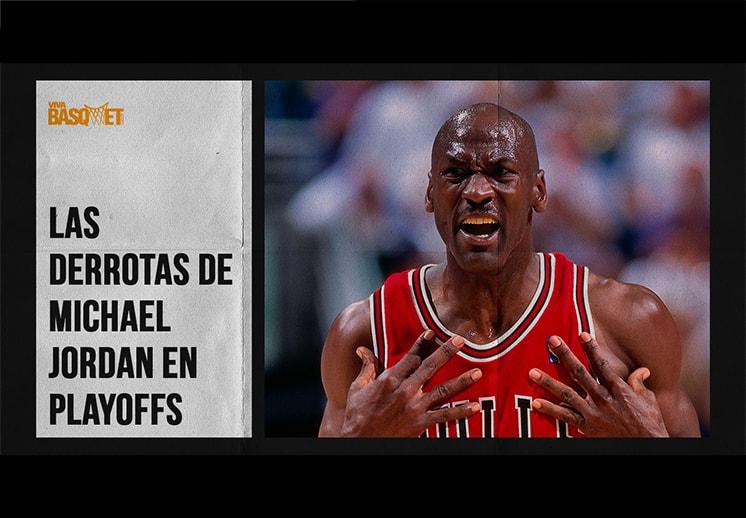 Los Playoffs que perdió Michael Jordan antes de ser campeón