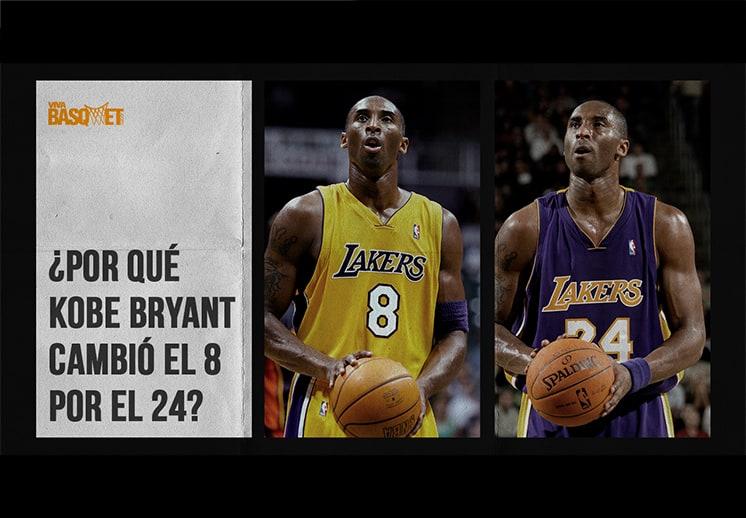 ¿Por qué Kobe Bryant cambió el 8 por el 24?