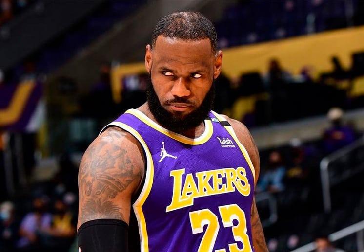Nueva crítica de LeBron James a la NBA