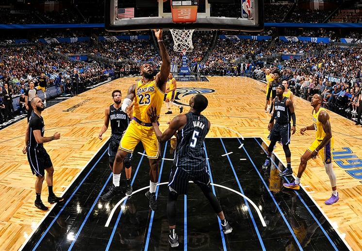 LeBron James y su historia con el Orlando Magic