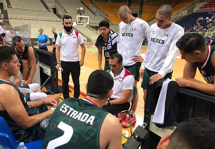 En gran duelo, México cae con Grecia en el inicio de la Copa Acrópolis