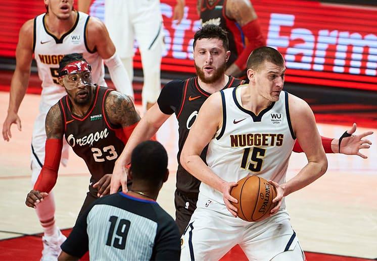 Denver resiste en Portland y elimina a los Blazers