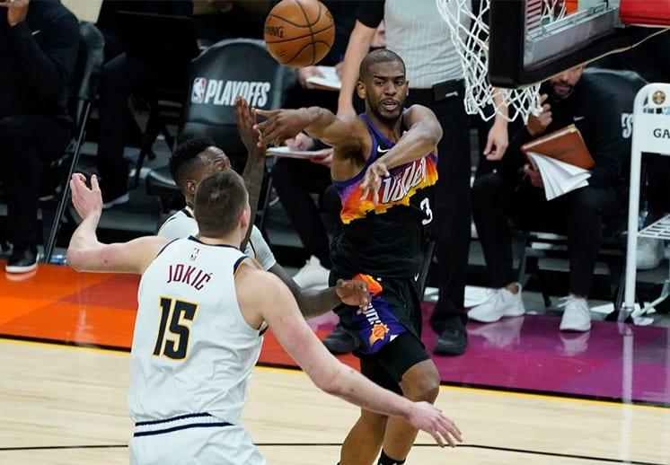 Chris Paul brilló en la victoria de Suns frente a Denver