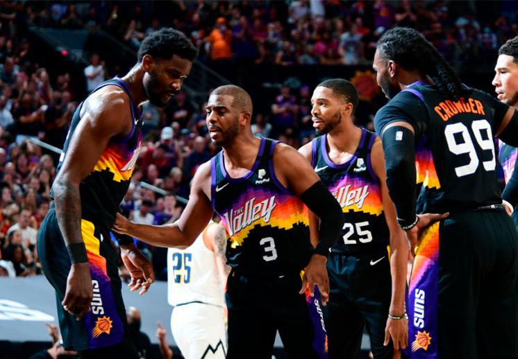 Los Suns dan paliza a los Nuggets y se ponen 2-0