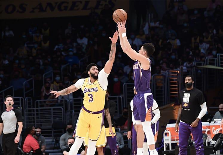 Los Suns acabaron con LeBron y los Lakers