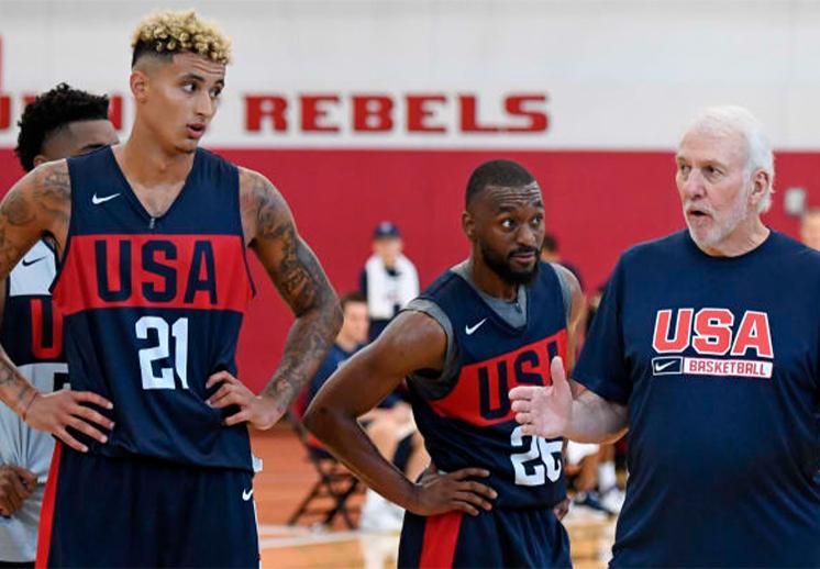 Las Vegas será la casa del USA Team antes de viajar a los Juegos Olímpicos de Tokio DEST