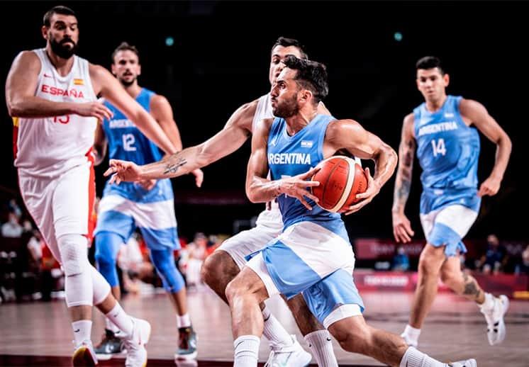 Argentina-Japón y Eslovenia-España para definir los cuartos de final en Tokio 2020