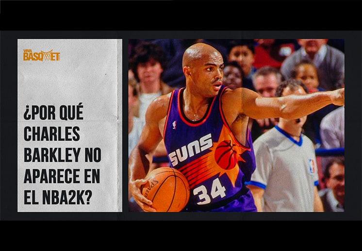 ¿Por qué Charles Barkley no aparece en el NBA 2K?
