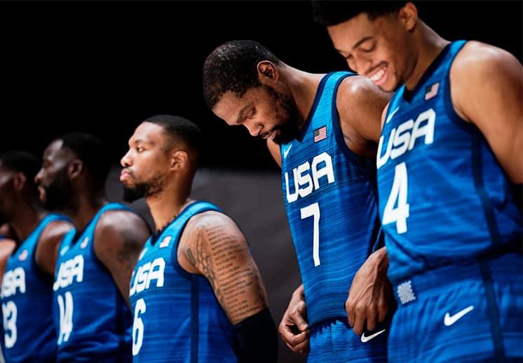 Horarios y días de los partidos de la selección de basquetbol de Estados Unidos en Tokyo 2020