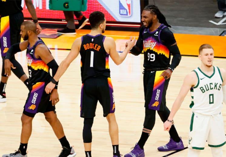Datos curiosos para arrancar las Finales de la NBA entre Bucks y Suns