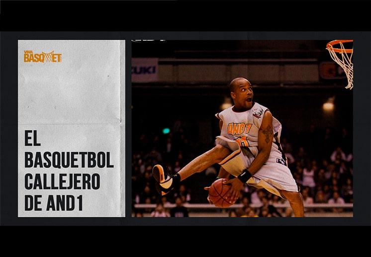 El basquetbol callejero de AND1