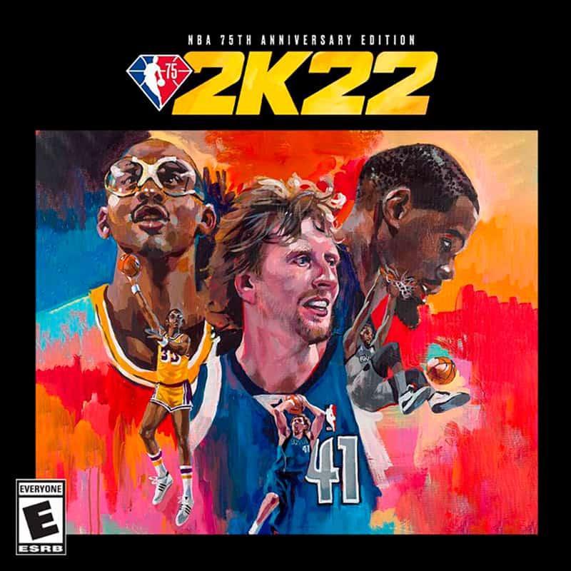 Candace Parker, Luka Doncic y Kareem Abdul-Jabbar en la portada de NBA 2K22