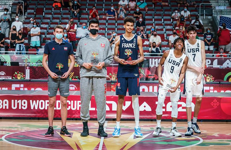 Estados Unidos campeón del Mundial FIBA U19 1