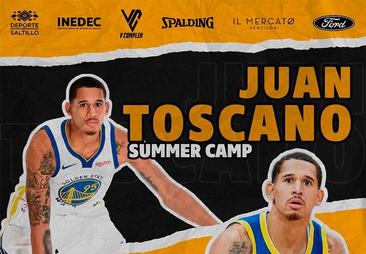Asiste al Summer Camp con Juan Toscano