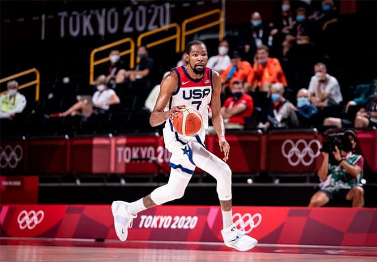Kevin Durant supera a Carmelo Anthony y hace historia con el Team USA