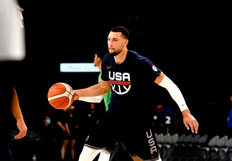 ¿Otra baja para el Team USA? Zach LaVine no viaja a Tokio