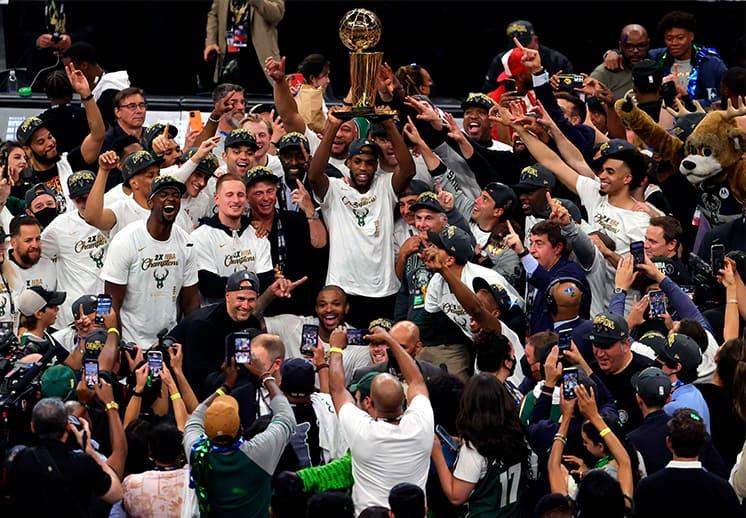 50 años después, los Bucks son campeones de la NBA
