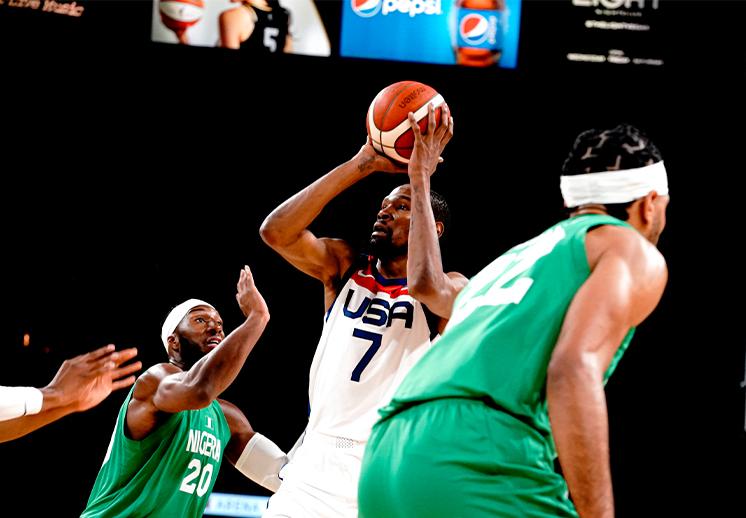 Nigeria exhibe a la Selección de Estados Unidos