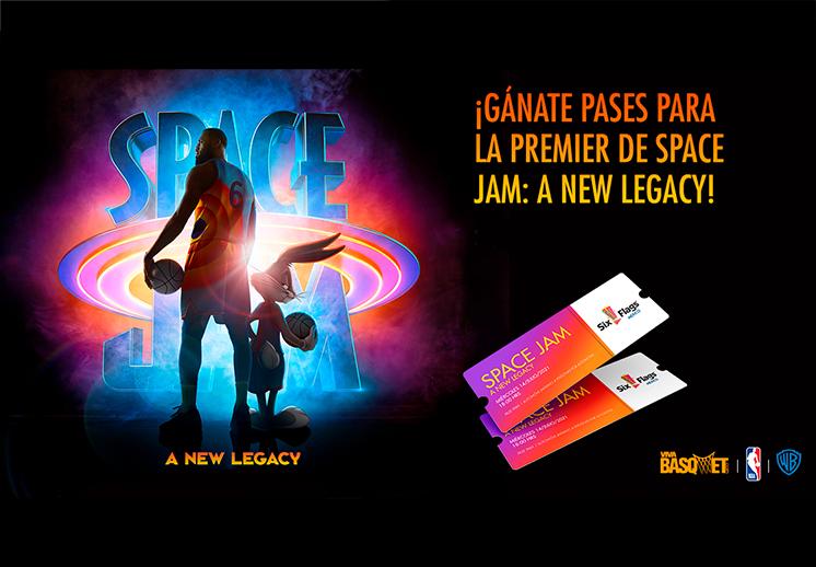¡Gánate pases para la Premier de Space Jam: A New Legacy! DEST