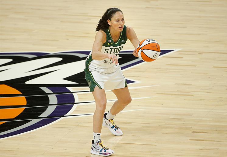 Sue Bird la reina de las asistencias en la WNBA