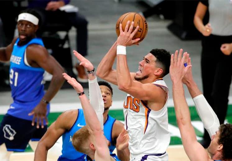 Así se jugarán las Finales de la NBA entre Suns y Bucks