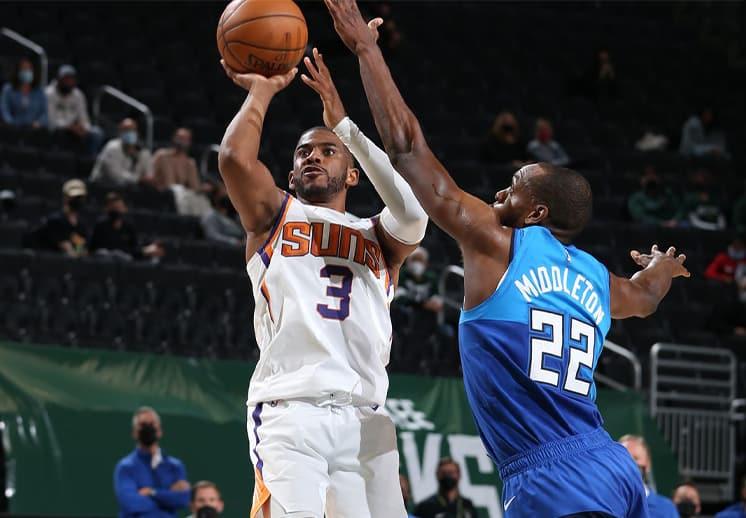 Los Suns salen como favoritos sobre los Bucks en las Finales de la NBA