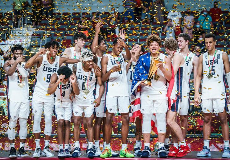 Estados Unidos campeón del Mundial FIBA U19