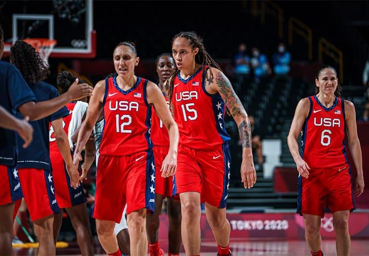Debut y récord para las chicas del Team USA en Tokio DEST