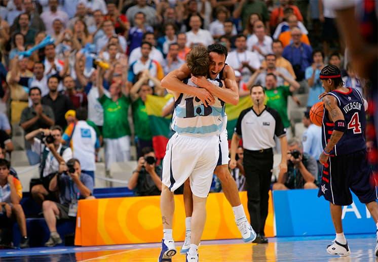 Un aniversario más de la victoria de Argentina sobre USA en Atenas 2004