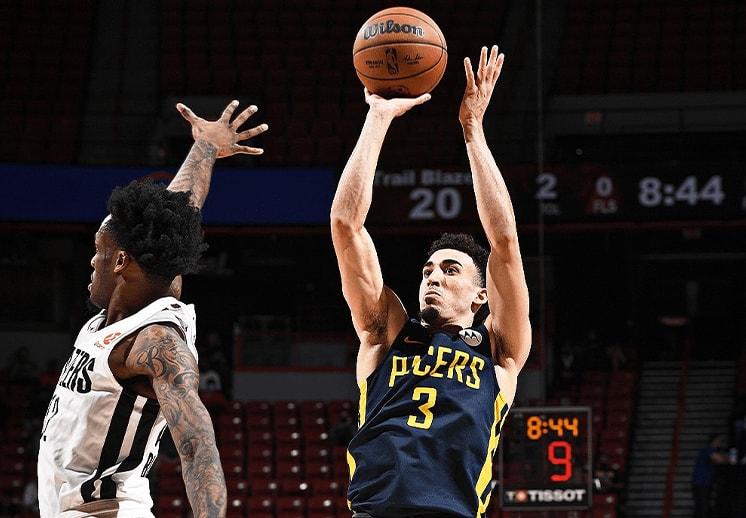 Chris Duarte se luce con los Pacers en la NBA Summer League