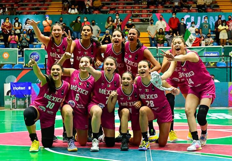 México se queda con el tercer lugar en el FIBA Américas U16 Femenil DEST